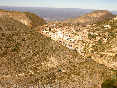 Vue de Real de Catorce